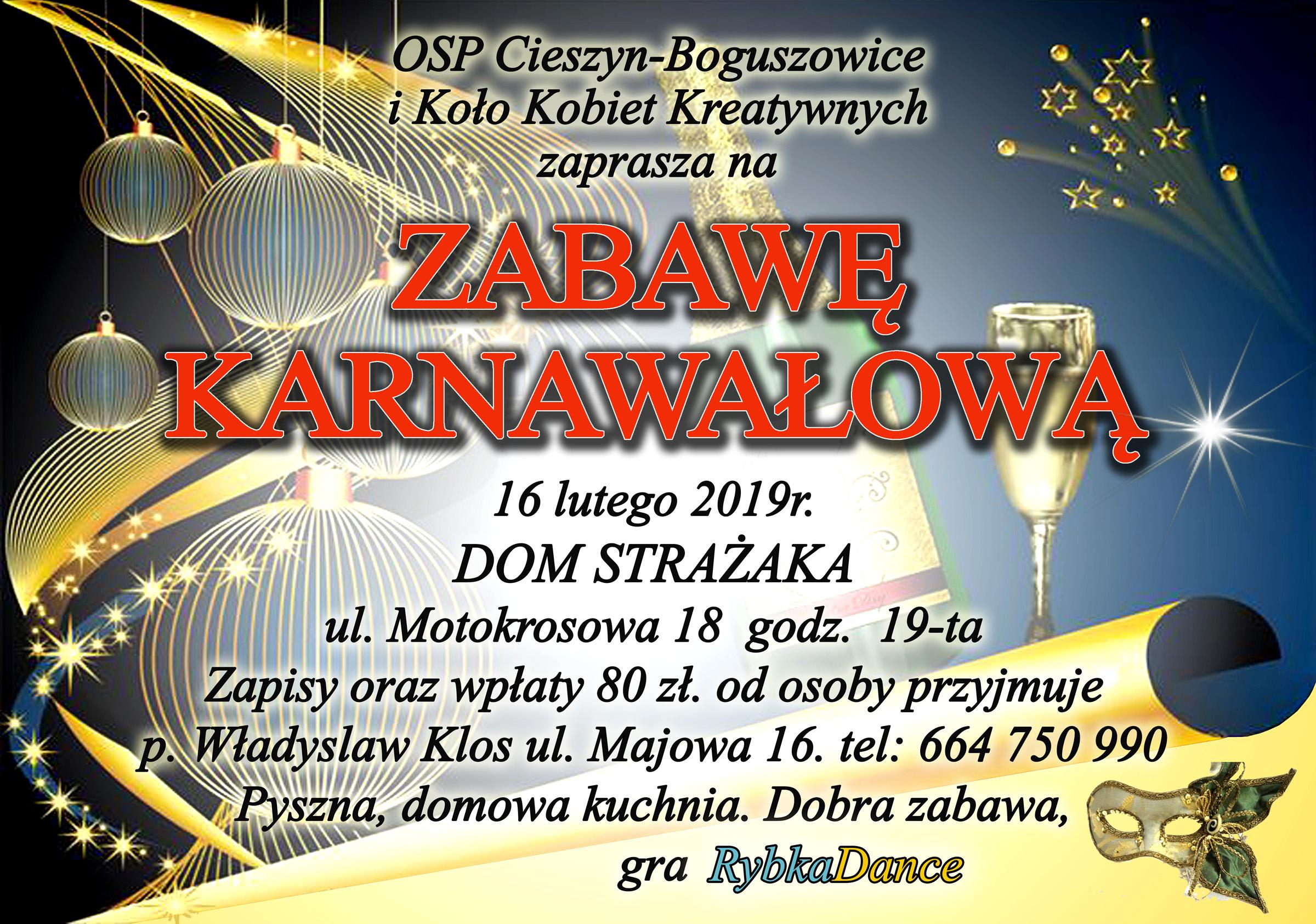 Zabawa Karnawałowa2